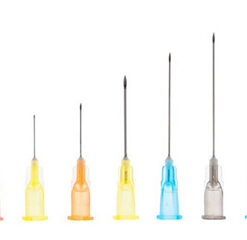 Needles cannulas syringes